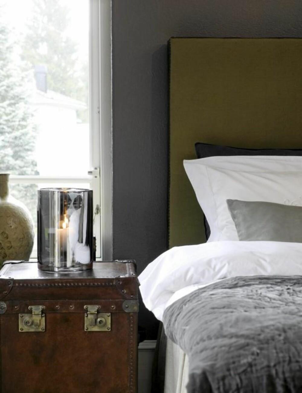 SENGEGAVL: Lag din egen eller kjøp ferdig. En sengegavl gjør soverommet litt mer luksuriøst.