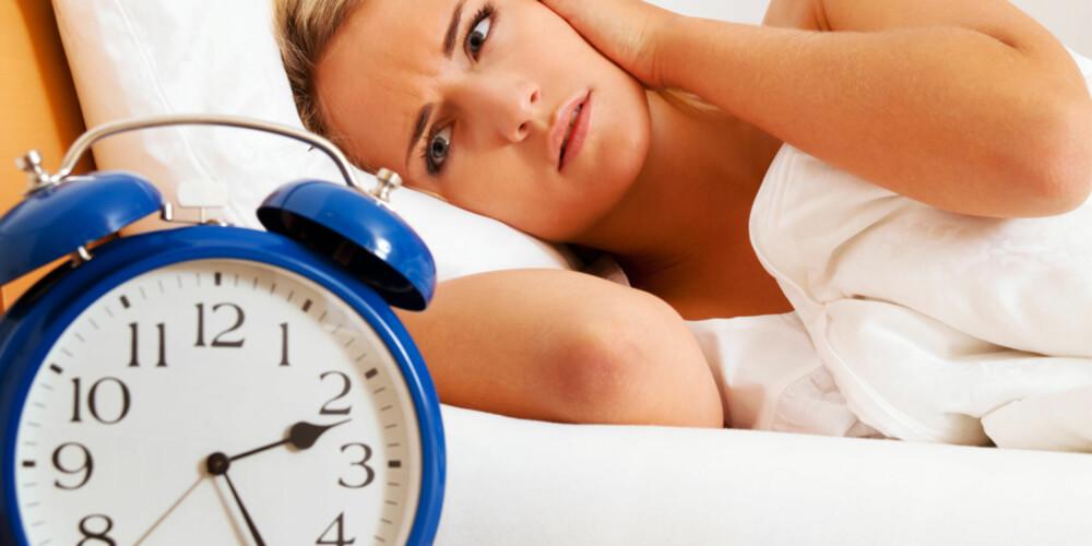 TIKK-TAKK: Unngå vekkerklokker som tikker eller har lys. Snu også gjerne displayet vekk fra deg om natten.