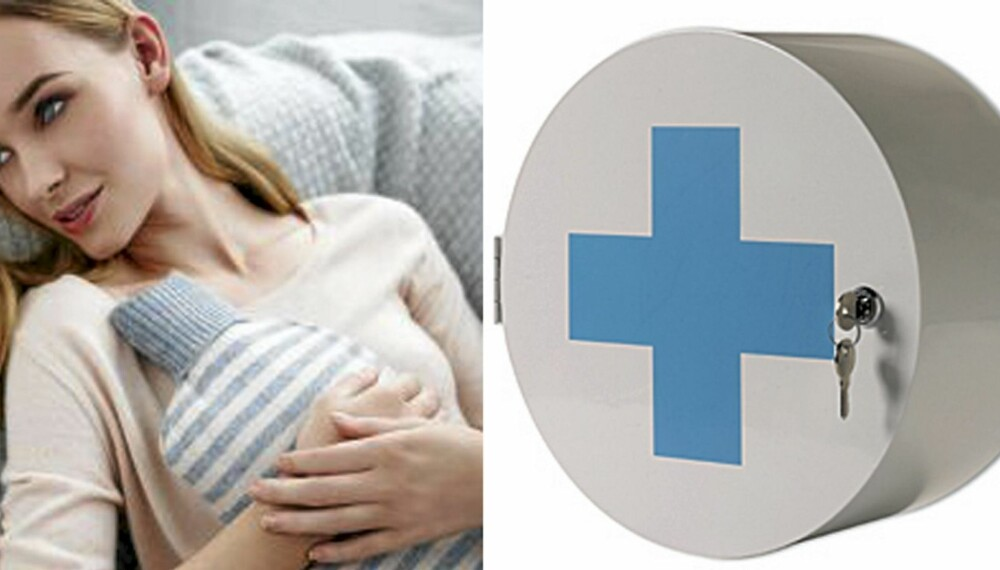 ALLTID BEREDT: Passer du på å ha disse tingene i huset blir sykedagene litt lettere å takle.
