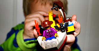 Ryddig gutterom: Gutterommet er fullt av spennende leker. Sørg for at alt får sin faste plass så er det lettere å holde det ryddig.