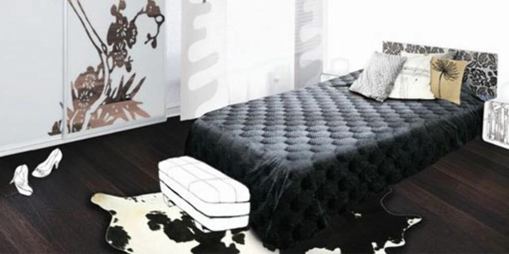 LIGG GODT: En god seng er første steg til god søvn.