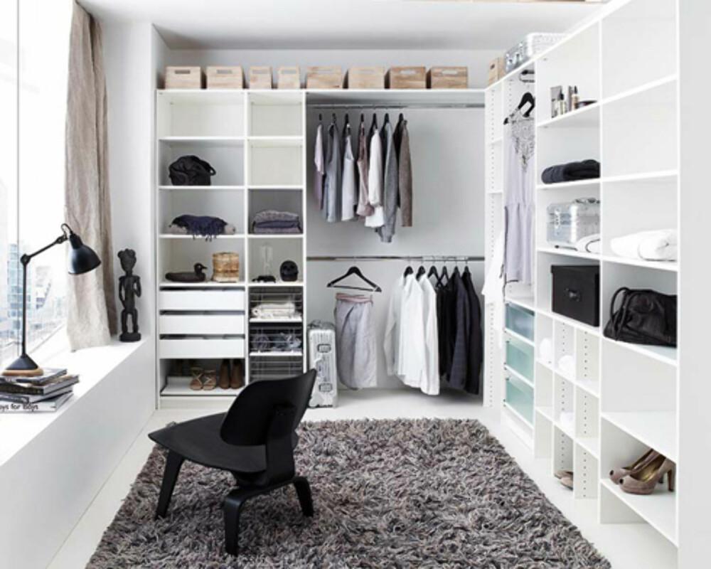 Ekstra Slik lager du walk-in garderobe - Soverom UC-99