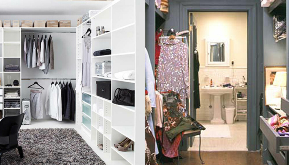 CARRIED AWAY: Nå vil vi ha garderobe som Carrie Bradshaw!
