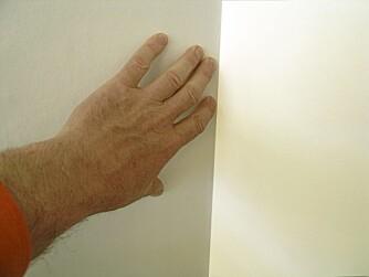 Skikkelig understøtte: Når du har satt opp en lettvegg, eller lagt panel skal det ikke svikte når du dytter i hjørnene.
