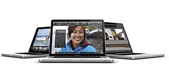 DELIKATE: Macbook Pro er en av mange Mac-modeller. Forbered deg på en del endringer, hvis du er vant med PC fra før.