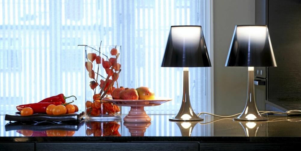EFFEKTFULLT: Bruk lys til å fremheve farger. Lys skaper rommet.