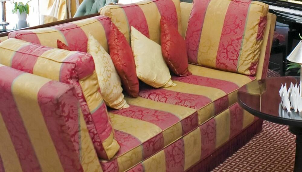 61abf780 FLEKKFRI: En vakker sofa kan fort bli mindre vakker på grunn av matsøl og  lignende