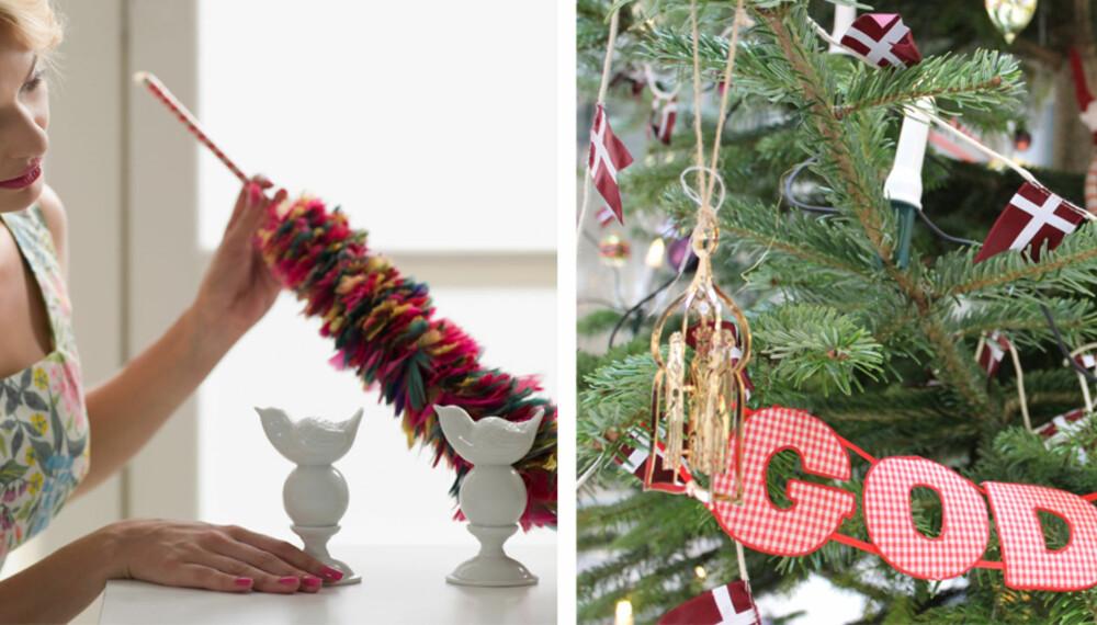NÅ HAR VI VASKA GØLVET: De fleste av oss er vokst opp med at julevasken må tas før jula ringes inn.