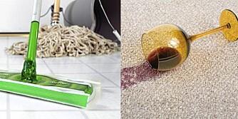 VASKENØDHJELP: Pass på hvordan du vasker gulvene dine. Det er viktigere enn du tror.