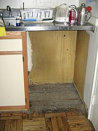 ÆSJ: Mulig man får ren oppvask når man har oppvaskmaskin, men man får også ett sted til som er vanskelig tilgjengelig med vaskekosten.