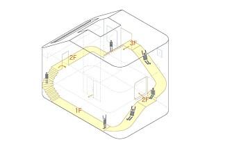 PRINSIPPSKISSE: Slik er trapper og sklie designet.