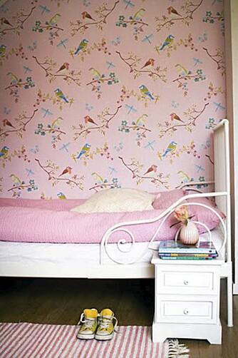 PIKEROM: Dette er rommet til en litt større jente. En lun sovehule uten noe særlig stæsj.