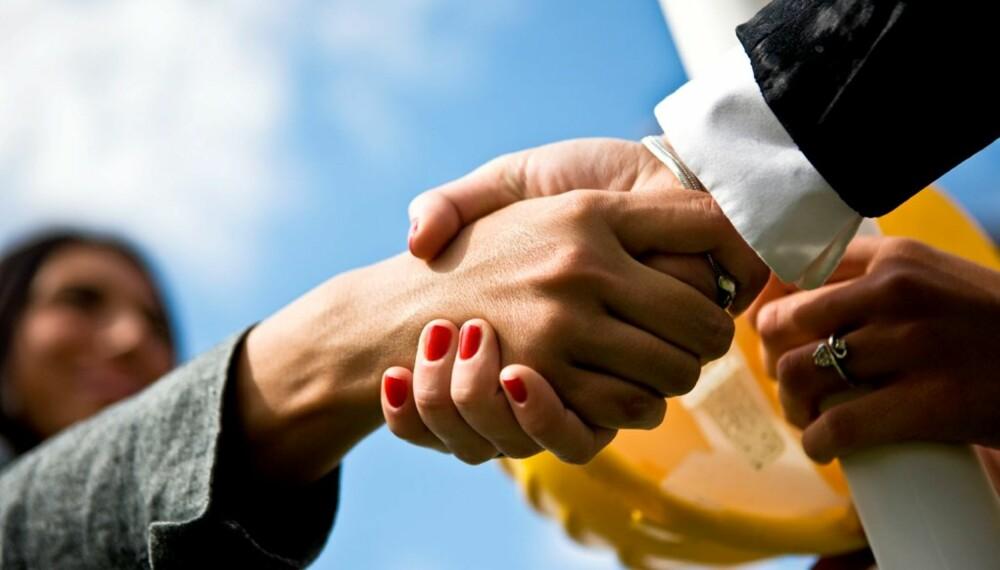 Lag alltid en avtale med håndverkeren før arbeidet settes i gang.