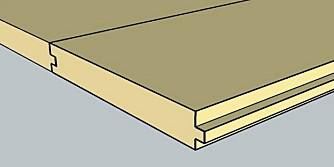 Heltre:Et gulv i heltre tåler flere slipinger enn et parkettgulv