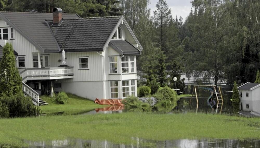 FLOM: Sørg for at huset ditt tåler store mengder nedbør.