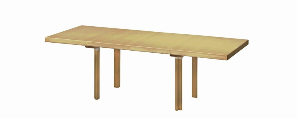 FINSK FINESSE: Uttrekksbordet H92 designet av Aalvar Aalto føres av Artinteriør i Oslo, kr 49 335.