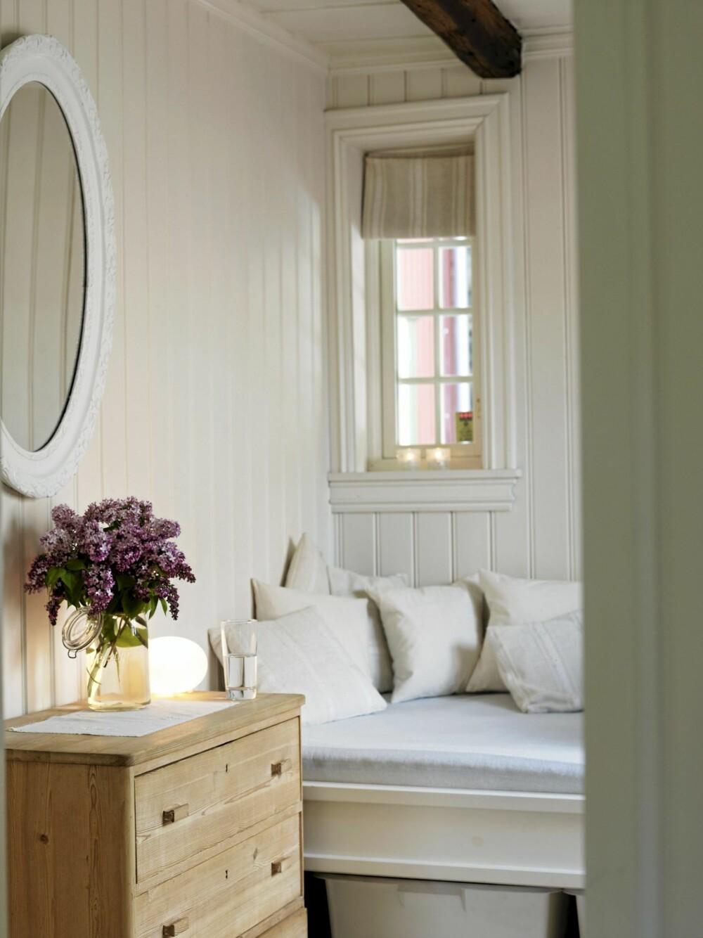 FLEKSIROM: Soverommet kan omgjøres til dagseng i tilfelle storinnrykk av gjester.