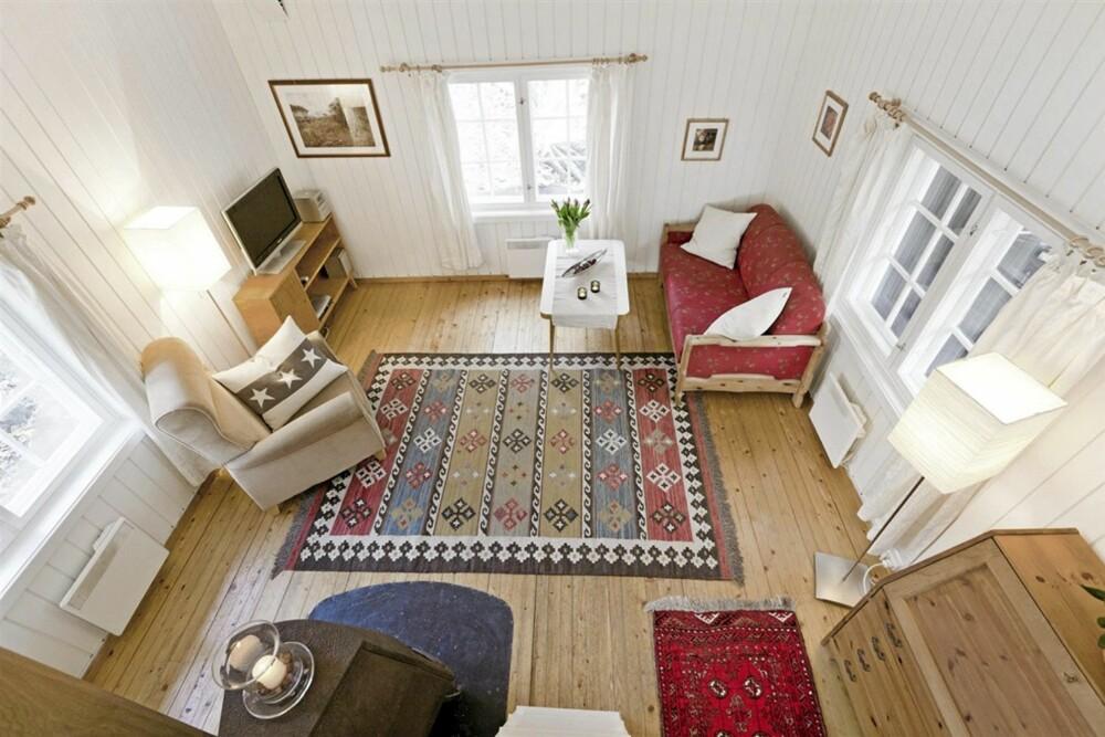 TIL SALGS: Megler Hans E. Houeland i Advokatene Sem og Johnsen sier til klikk.no han aldri har vært med på å selge et mindre hus.