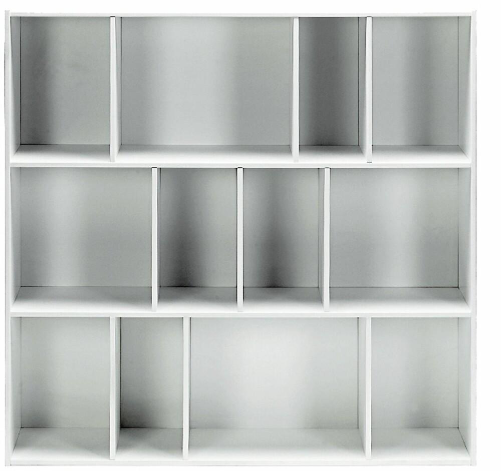BOKHYLLER: House Square White Bokhylle fra Bolia, kr 3699.