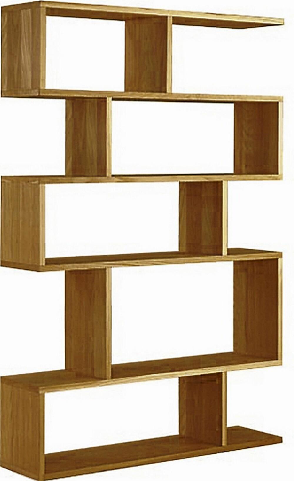 BOKHYLLER: Balance Shelf bokhylle fra Eske, kr 7900.