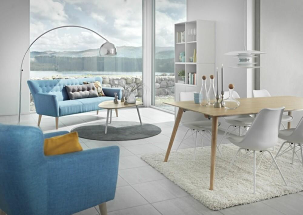 MODERNE OG NOSTALGISK: Sofaene i serien Future fra Living bærer tydelig preg av å være inspirert av fordums tider.