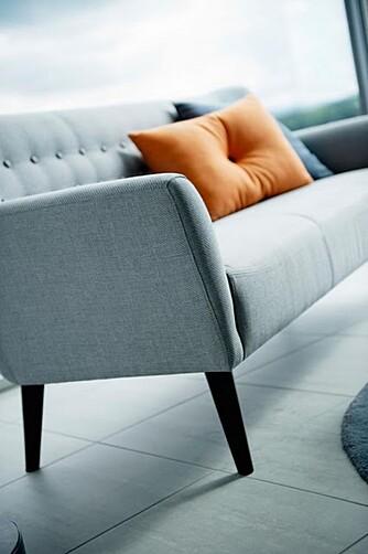 LIVING: Disse møblene fra Living er fra serien Future, som har en sterk retro følelse.