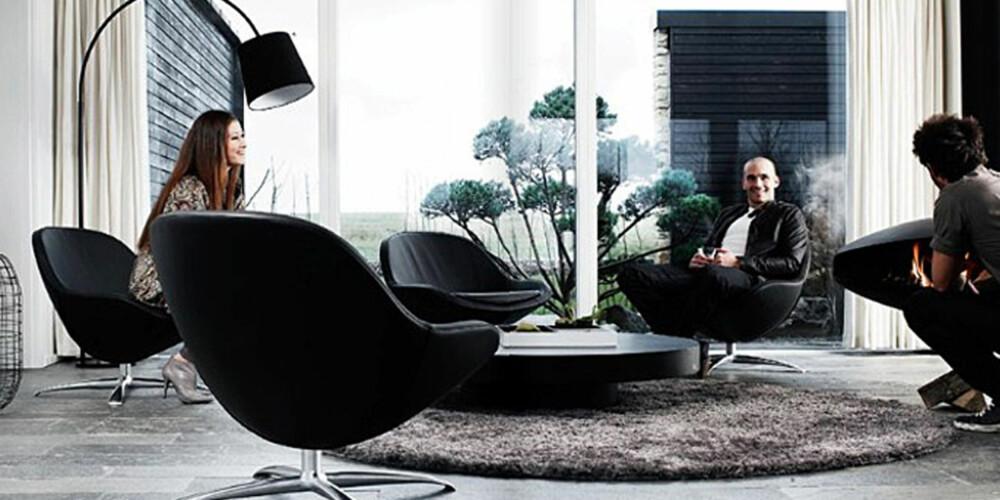 LOUNGE: Lounge stilen stammer fra 1950- og 1960-tallet, og er på full fart tilbake i trendbildet igjen.