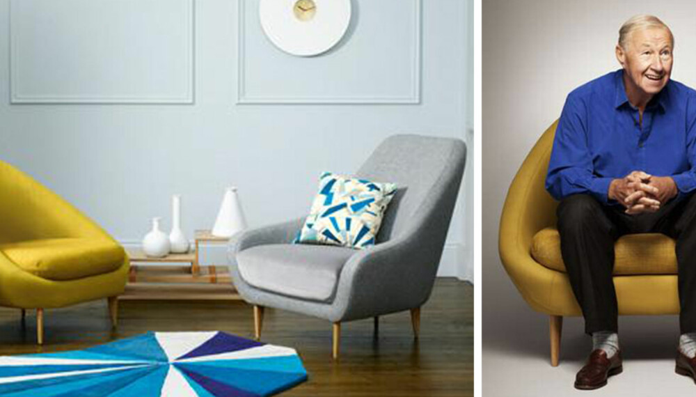 GOD GAMMEL: Mange designere, som i dette tilfellet Sir Terence Conran, ser seg tilbake når de tegner møbler.