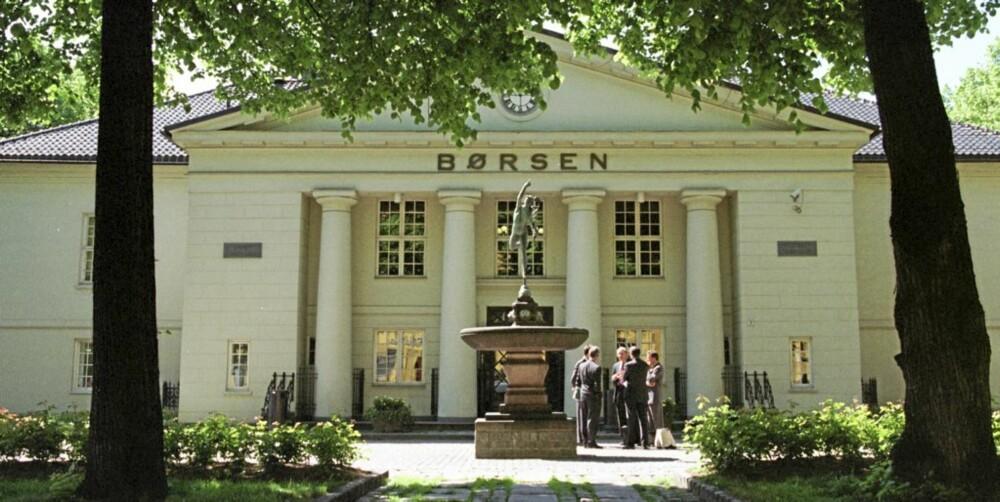 NYKLASSISISME: Oslo Børs, tegnet av Christian H. Grosch