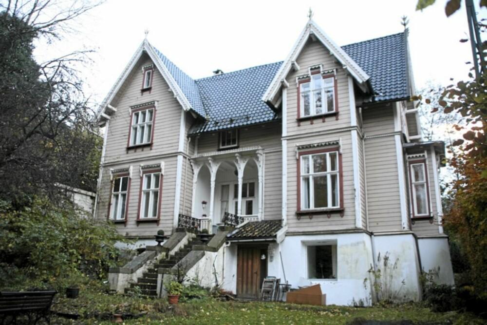 SVEITSERSTIL: Denne villaen fra 1873 i Bergen er tegnet av arkitekt Peter Andreas Blix.