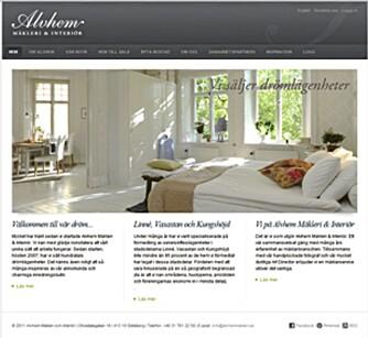 KOMPLETT: Alvhem mäkleri har et komplett konsept som innebærer gjennomført interiør på boligene de selger.