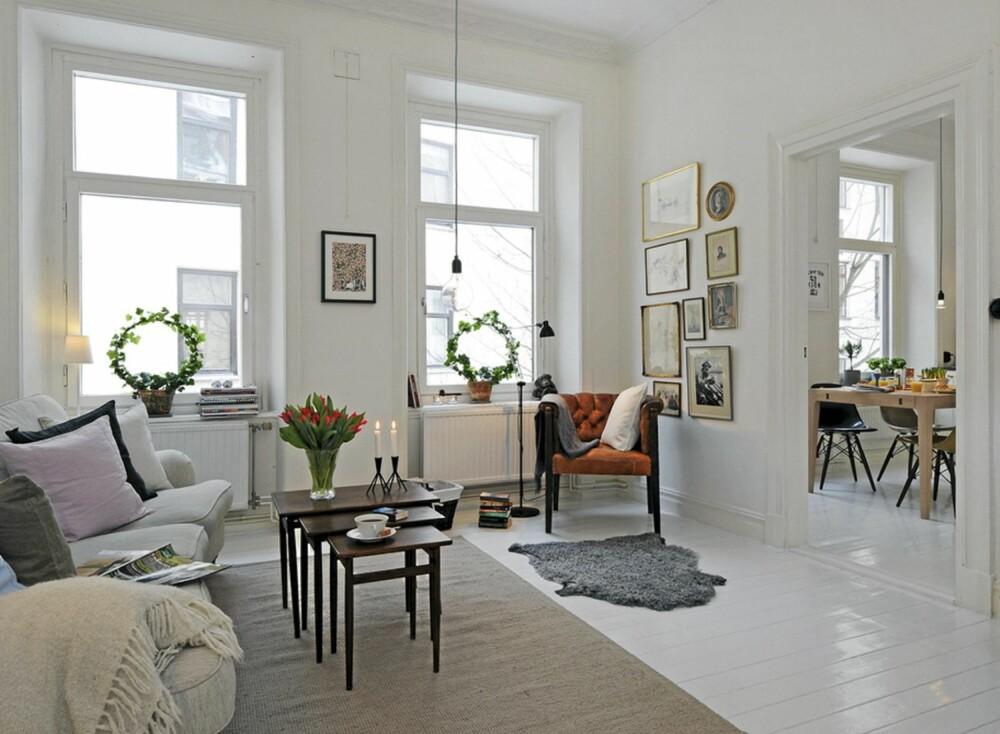 PERSONLIG: Selv om Alvhem mäkleri sine boliger er stylet har de gjerne et personlig uttrykk i interiøret.