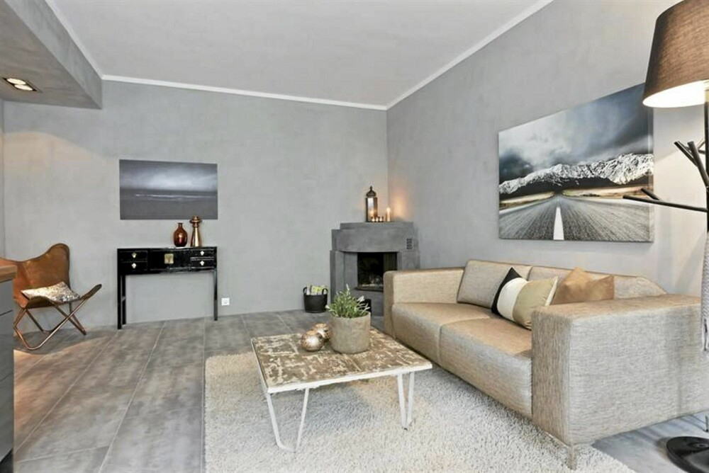 GJENNOMFØRT: Denne boligen fra Intro interiørdesign har et stylet og gjennomført uttrykk.