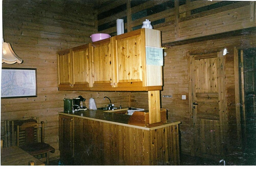 TRANGT: Det gamle kjøkkenet var trangt og upraktisk.