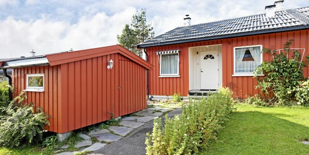 MYE FOR PENGENE: Dette rekkehuset på Rasta i Kongsvinger på 118 kvadratmeter ligger i øyeblikket ute til salgs for 1.503.018 millioner.