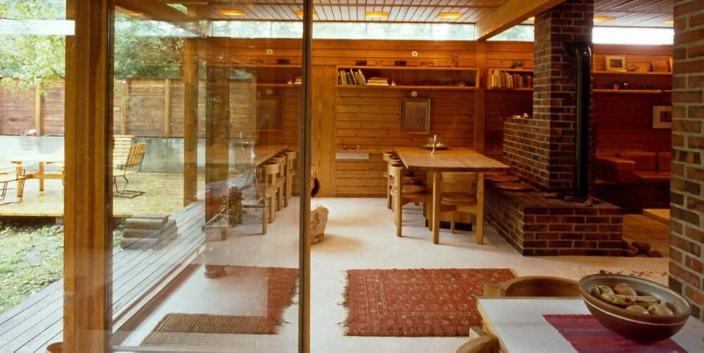 Interiør fra Villa Schreiner