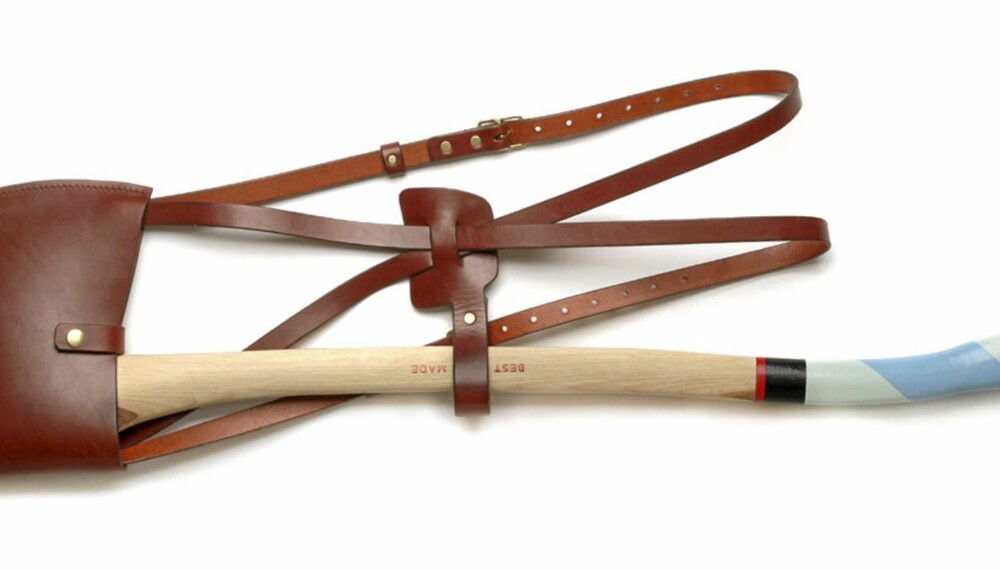 Axe sling: Bæresele til øks. Pris: 1100