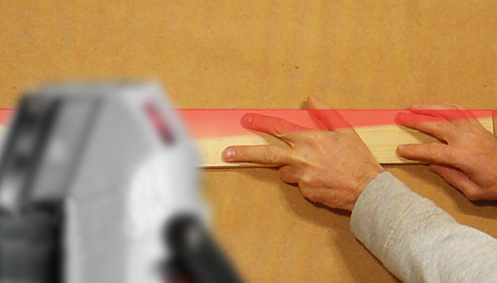 Sjekk: Ta en sjekk på laseren før du handler.