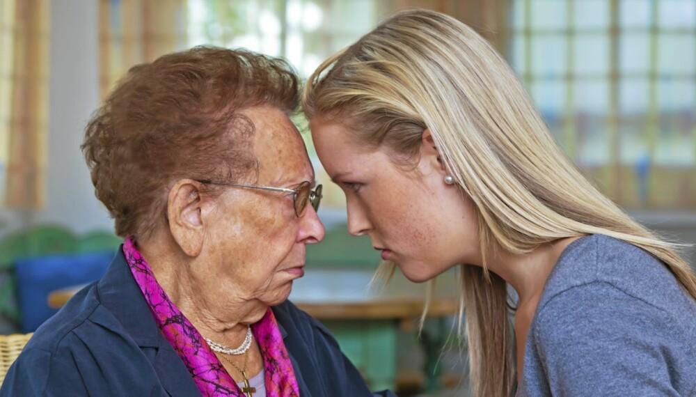 SVIGER TIL BRY: Det kan skape store problemer for familien når mor og svigermor ikke kommer overens.