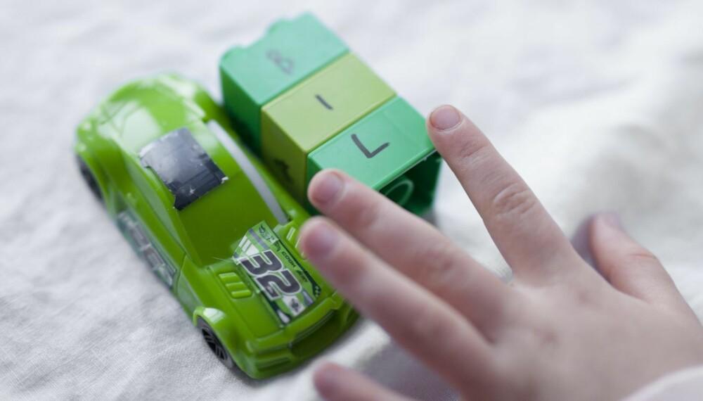 LESELEGO: Har du noen store  legoklosser liggende? Det kan bli det beste konkretiseringsmateriellet du har i huset.