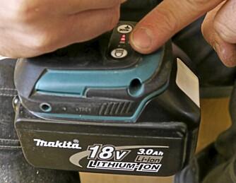 GIR: Maskinen har tre elektronisk styrte gir som gir forsjellig tur og slagtall.