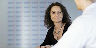 VÆR BEREDT: Markedsansvarlig  i Bank2, Lena K. Heimstad mener det er viktig å forberede seg på trangere tider som følge av en skilsmisse.