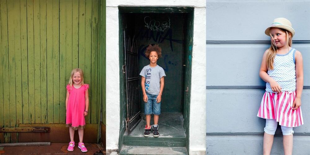 ROLIG BAKGRUNN: Se etter bakgrunner. Hvordan ser veggen bak barnet ut? Er det rolig for øyet? Det er barnet som skal i sentrum, ikke bakgrunnen.