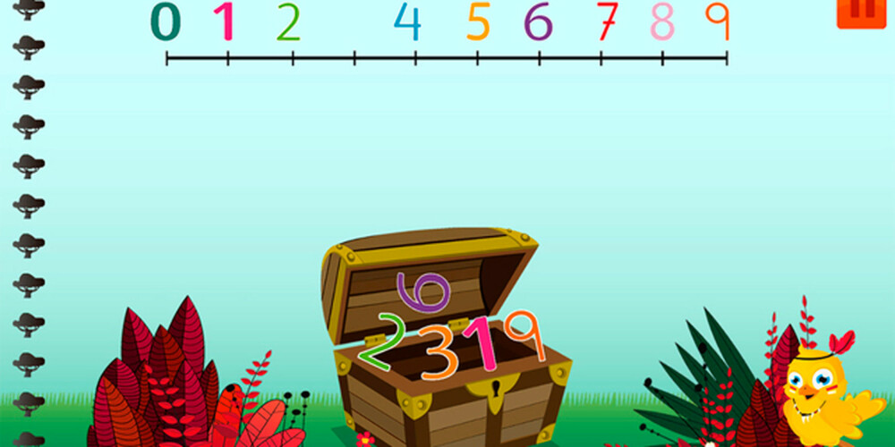 TIMEVIS MED MORO: Denne appen er norskutviklet og lærer barna matte på en enkel måte.