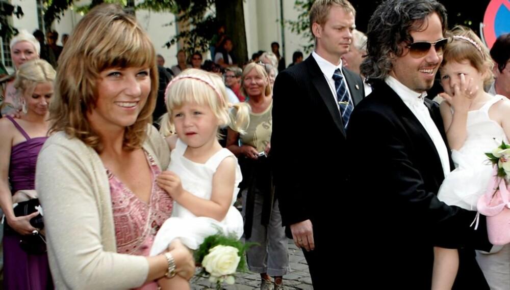 FAMILIEFORØKELSE: Prinsesse Märtha Louise og Ari Behn har fått sitt tredje barn og Leah Isadora og Maud Angelica en lillesøster.