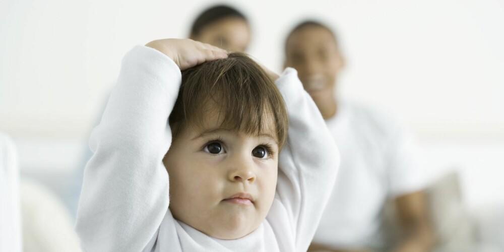 OPPGITT: Sørg for å være sikker på navnevalget til barnet ditt, og stå for det.