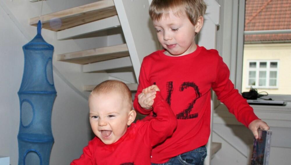 HYLLEST: Foreldrene til disse gutta er så glade i U2 at de er oppkalt etter vokalist Bono og gitarist The Edge.