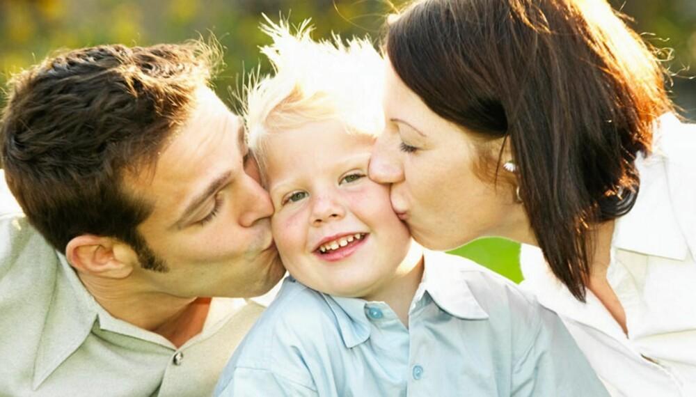 FORNAVNET VIKTIG: Dagens foreldre bruker mye tid på å velge riktig navn til barnet..