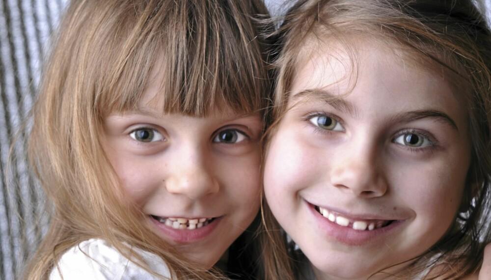 ENKELT ELLER DOBBELT: Hvert fjerde barn som er født etter 1998 har fått to fornavn. Trenden går tilbake i Norge.