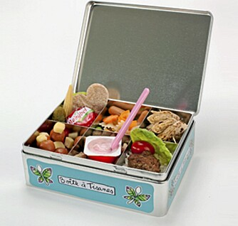 FRISTENDE MATBOKS: Matbokser med flere rom gjør at maten holder seg fin.